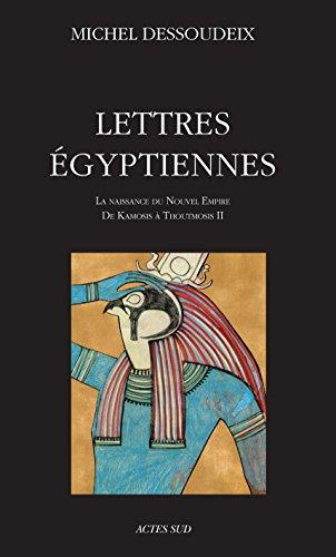 Lettres égyptiennes (ESSAIS SCIENCES) par Dessoudeix Michel
