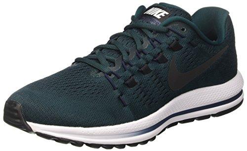 Nike Air Zoom Vomero 12, Herren Laufschuhe, Türkis (Dark Atomic Teal/black-obsidian-white), 42.5 EU