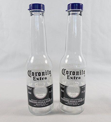4Extra 8Glas Salz und Pfeffer Shaker | Set von 2von Corona