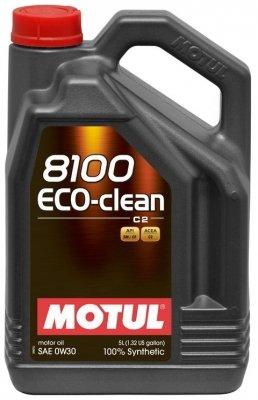 Motul 102889 8100 Eco-clean SAE 0W30 – Aceite Motor