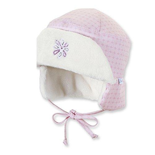 Sterntaler Baby Wintermütze Kosakenmütze Uschanka, Größe:41, Farbe:rosa (702)