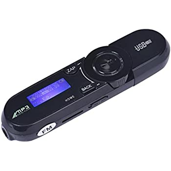 Tonsee® USB LCD Screen16GB support de Flash TF Lecteur MP3 Radio FM Musique