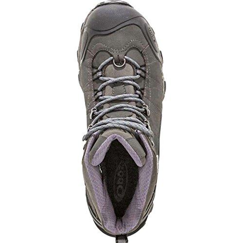 "Oboz Bridger Bdry 8"" Insulated Chaussure De Marche - AW16 Grey"