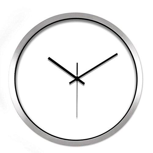San Tai@Clock einfach Wanduhr kreativ Schlafzimmer stumm Quarz Tisch Wohnzimmer einfach Nordic Dekoration 14inch