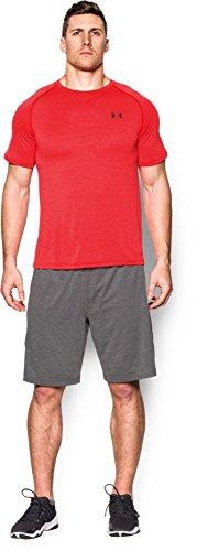Under Armour Herren Fitness T-Shirt UA Tech Tee Rot (Lapis Red)