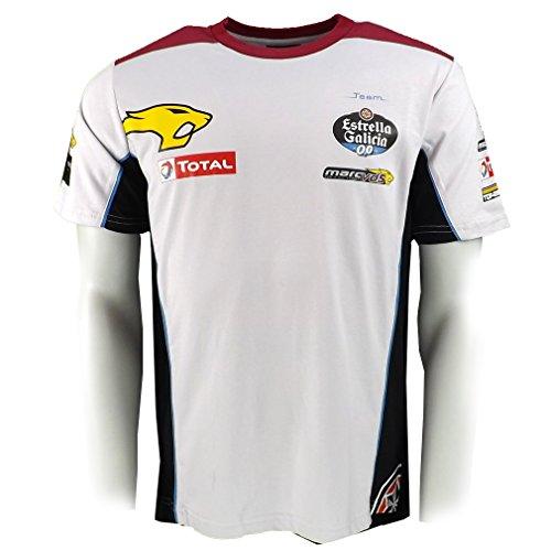 Marc VDS Racing Team Replica T-shirt Moto GP offiziell 2017 (Racing-team-t-shirt)