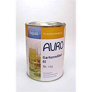 AURO Oil for garden furniture -Aqua- - Nr. 115
