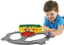 Thomas & Friends - Cocheras de tidmouth (Mattel DGK96)