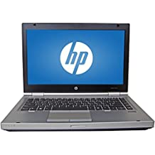 "2017 HP 14"" HD Elitebook 8470P Business Laptop Computer, Intel Dual Core I5 2.6 Ghz Processor, 8GB Memory, 240GB SSD HDD, DVD, VGA, RJ45, Windows 10 Professional (Certified Refurbishd)"