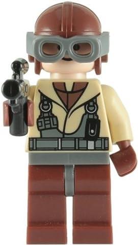 LEGO Star Wars: Naboo Fighter Pilote Mini-Figurine Avec Blaster Rifle