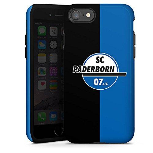 Apple iPhone X Silikon Hülle Case Schutzhülle SC Paderborn Fanartikel SCP Tough Case glänzend