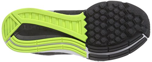 Nike Air Zoom Structure 18, Chaussures de Running femme Blanc (White/Reflective Silver/Black/Volt)