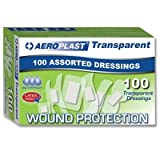 Assorted Transparent Plasters - Aeroplast (Box Of 100 Sterile wrapped plasters) - be fully prepared...