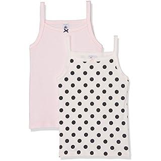 Petit Bateau Mädchen Unterhemd Lot 2P Chem BRET, Mehrfarbig (Special 00), 104 (Herstellergröße: 4ans/104cm)