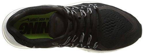 Nike Wmns Air Max 2015, Chaussures de Sport Homme multicolore (Black/Rflct Slvr-Wht-Smmt Wht)