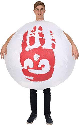 Aus Kostüm Filmen - Erwachsene Aufblasbare Wilson Football Volleyball Castaway Film 00er Kostüm