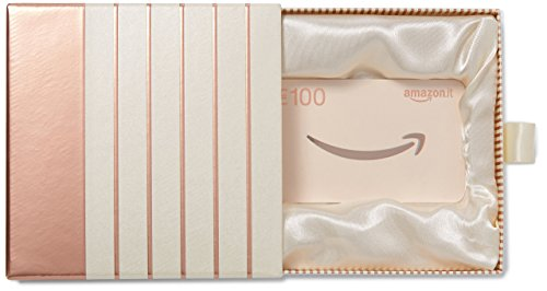 Buono Regalo Amazon.it - € 100 (Cofanetto rosa-oro)