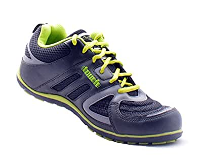 Lakhani Touch 355 Sports Shoes (Black, 8)
