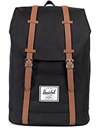 Herschel Retreat Black, Sac à dos
