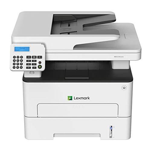 Lexmark MB2236adw. Tecnología de impresión: Laser, Impresión: Impresión en blanco y negro. Resolución máxima: 1200 x 1200 DPI. Copiando: Copias en blanco y negro, Escaneando: Escaneo a color. Resolución óptica de escáner: 600 x 600 DPI. Enviando por ...
