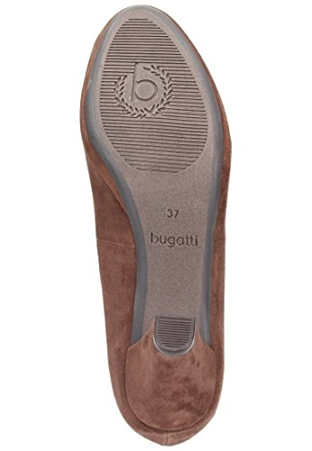 Bugatti Damen Pumps, whisky, 930463-2 braun