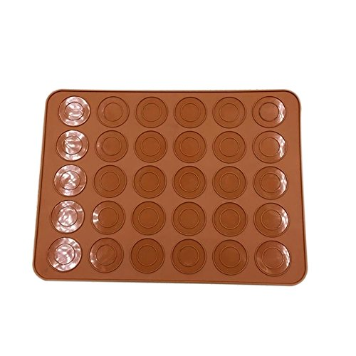 Cutogain Macaron Makronen Backen Form Silikon Topf Tabelle Matte Düsen Set Backofen DIY Dekorative Kuchen Muffin Teigform, 1