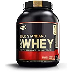 Optimum Nutrition Gold Standard 100% Whey Suplemento para Deportistas - Extremo Chocolate con Leche - 2270 g
