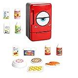 Sharplace Verschiedenes Kinder Küchen Kochgeschirr Elektrogeräte Spielzeug für Kinder Hauswirtschaft Rollenspiele - Kühlschrank