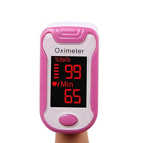 Cuidado de la salud Hogar Digital Clip de dedo Oxímetro Pulsómetro Monitorear en cualquier...