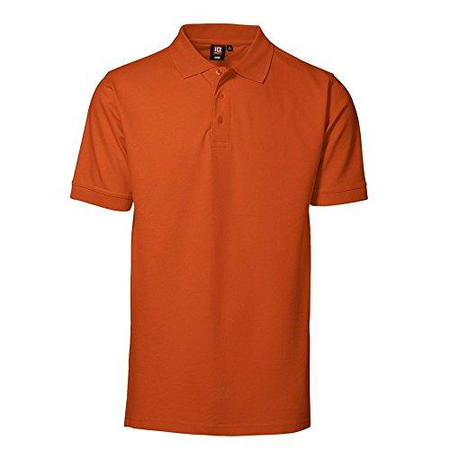 Rex & Holm ID0526 Herren Piqué Poloshirt Orange