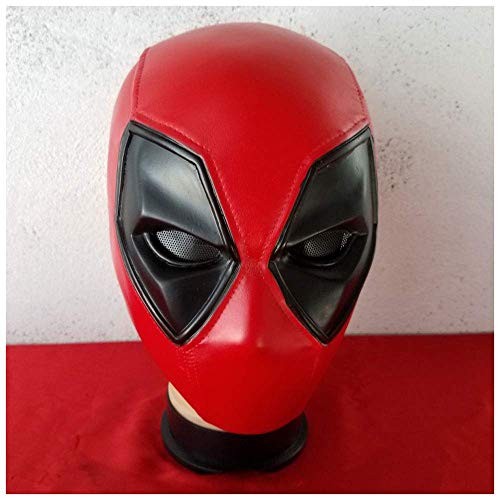 lm COS Marvel Held Kostüm Requisiten Deadpool Hood Halloween Maske Anime Film ()