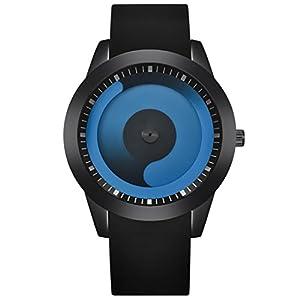 Unisex Uhren, BBring Herren Damen Fashion Harajuku-Stil Süßigkeiten Farbe Uhren Luxus Silikon Edelstahl Analoge Quarz Sport Armbanduhr
