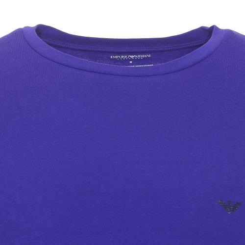 Emporio Armani Herren T-Shirt blau blau Ink