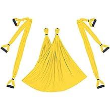 LUFA Aerial Yoga Swing Flying Hamaca Conjunto antigravedad 6 empuñadura  Silla Colgante de Fitness Kit Pilates 3835757bb2fa