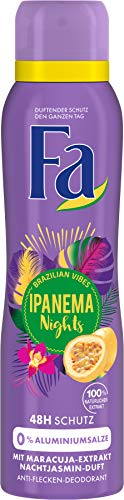 Fa Deospray Ipanema Nights Brazilian Vibes, 1er Pack (1 x 150 ml)