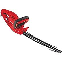 Einhell GC-EH 5747 - Recortasetos eléctrico, 3200 cortes/min, 570 W, 230 V, color rojo y negro