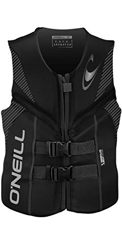 2018 O'Neill Reactor 3 ISO 50N Vest BLACK 4720EU Sizes- - Large (Overlock Sicherheit)