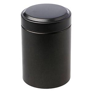 A0127 Boîte à thé Boîte scellée Boîte à café Matériel de Bambou Mini Portable Voyage en Plein air 4,5 x 6,5 cm
