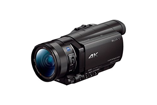 Sony Handycam FDR-AX100 Digital 4K Video Camera Recorder (Black)