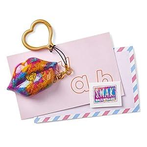 SWAK 4119 S.W.A.K. Interactivo Kissable Key Chain Glitz n Glam Kiss, Multi