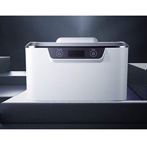 QueenYA Kontaktlinsen-Reinigungssystem, Ultraschallreiniger, Auto Reinigungs Kontakte Objektiv, bewegliche Kontaktlinsen reinigen Kit, Mini Auto Ultraschall-Kontaktlinsen reinigen