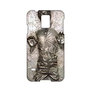 hnmd Han Solo Carbonite 3D étui pour téléphone pour Samsung S5