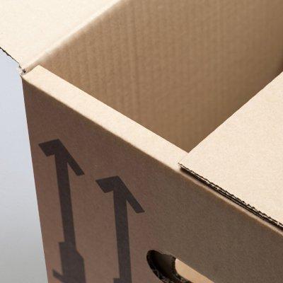 BB-Verpackungen Bücherkartons, 25 Stück, Basic 400 x 330 x 340 mm Bücher Kiste Umzug Karton Box Transport Verpackung - 4