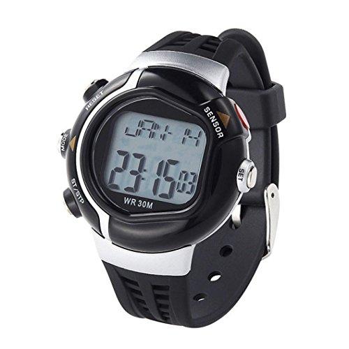 Uhr Uhren Sportuhr armbanduhr DAY.LIN Neue Wasserdichte Fitness Pulsmesser Sportuhr Kalorien Zähler (D) (Hut Bustier)