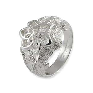 Herr der Ringe Schmuck by Schumann Design Galadriels Nenya Ring 925 Sterling Silber Rg 50 3001-050