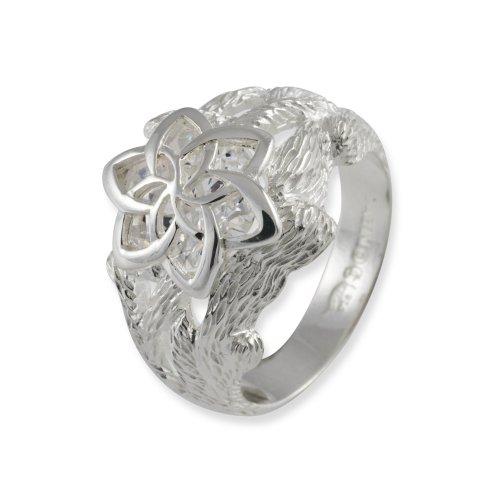 Herr der Ringe Schmuck by Schumann Design Galadriels Nenya Ring 925 Sterling Silber Rg 56 3001-056 (Der Titan Herr Ring Ringe)