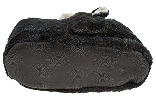 Pantofole Animali Scimmie Gibra®, Art. 0026, Per Signore E Signori, Nero, 36/37 - 45/46 Nero
