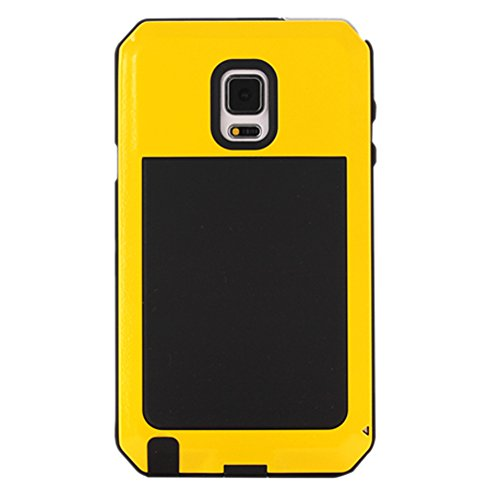 MNBS Phone Coque Etui Housse Antichoc Militaire Heavy Duty Shock Proof Survivor Protective Housse Pour iPhone 6/6SRed Yellow 5