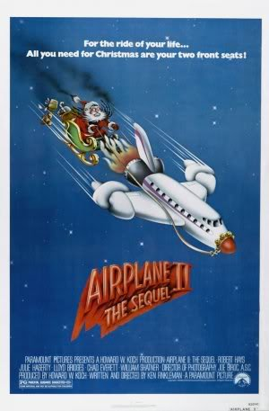 AIRPLANE 2 THE SEQUEL – Imported Movie Wall Poster Print – 30CM X 43CM Brand New