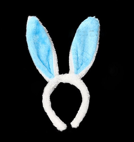 YYGIFT® Hasen Kostüm Hase Ohren Haarreife mit LED -